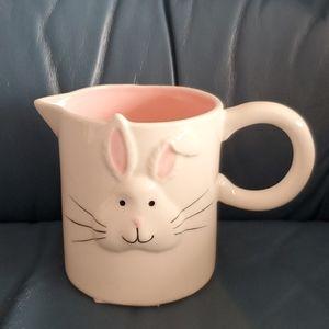 Whimsy Home by Magenta Bunny cream milk dispenser